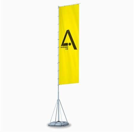 drapeau publicitaire personnalisé