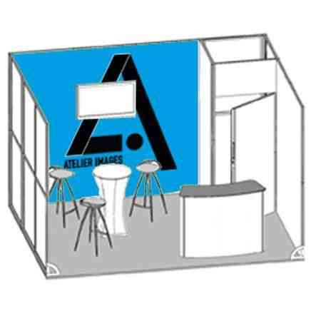 stand exposition 12m2