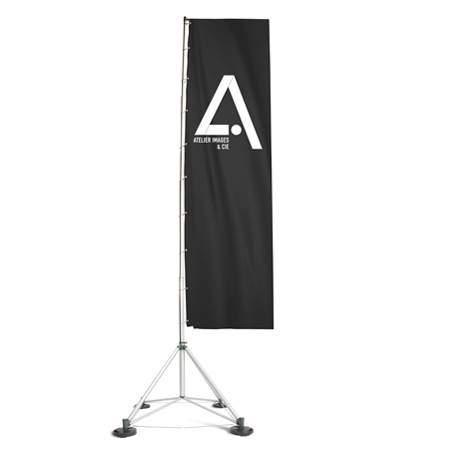 drapeau publicitaire FlagStand XL