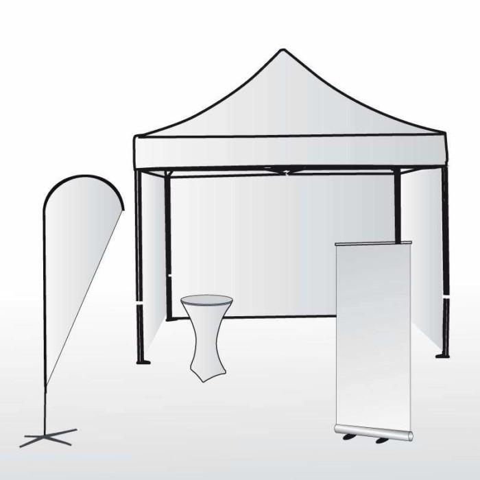 pack stand parapluie extérieur