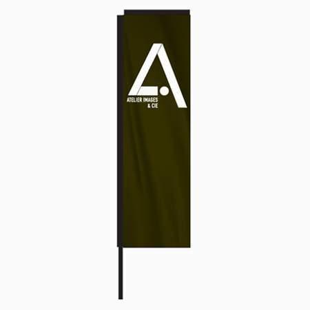 drapeau publicitaire H-Flag