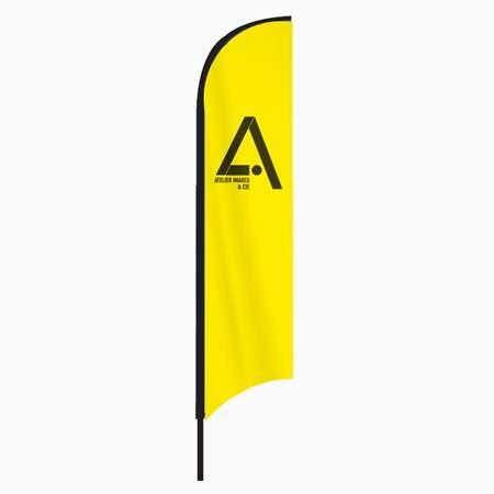 drapeau publicitaire personnalisé Wind Flag
