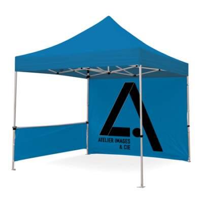 tente pour stand extérieur