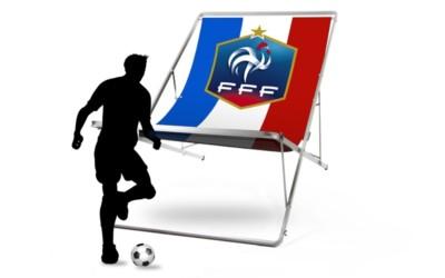 transat géant coupe du monde france-croatie objet publicitaire