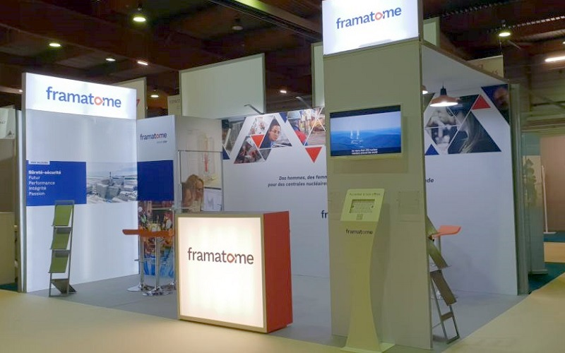stand modulaire framatome
