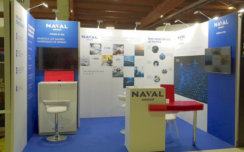 stand naval modulaire