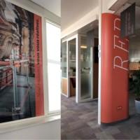 décoration bureaux adhésif
