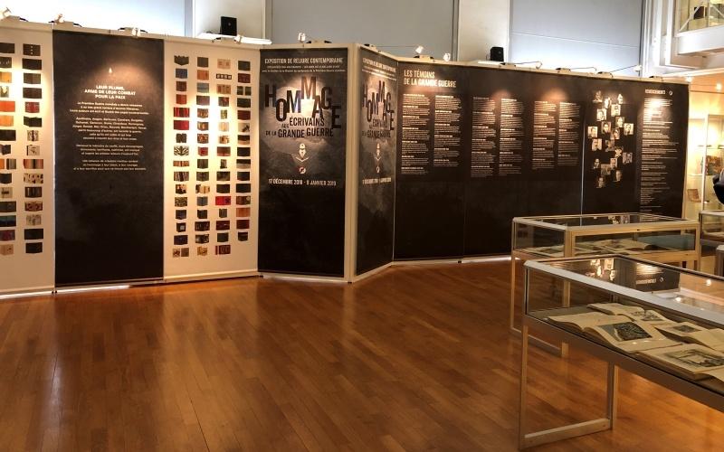kakemonos exposition musée