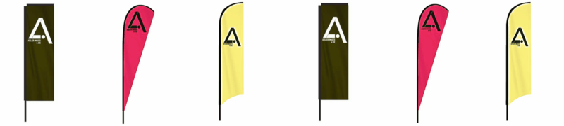 modèles drapeaux voile
