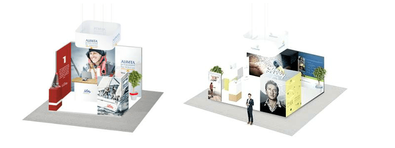 stand salon expo modulate