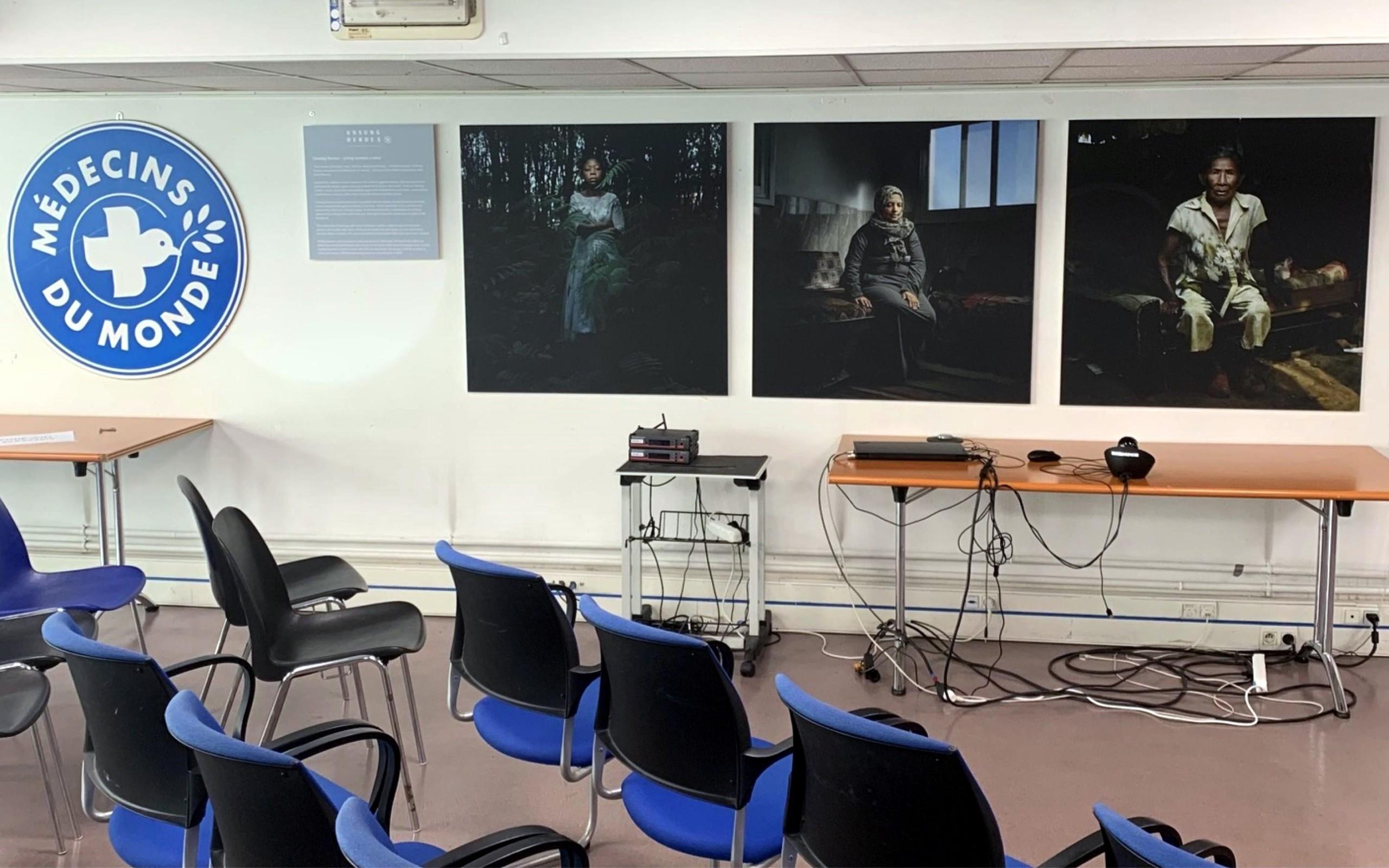 décoration salle de réunion