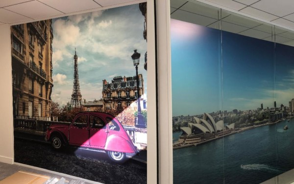 parois bureaux décoration