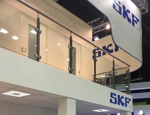 Stickers express pour SKF au Salon du Bourget 2019