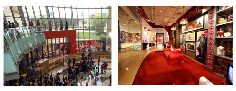 musée entreprise coca cola