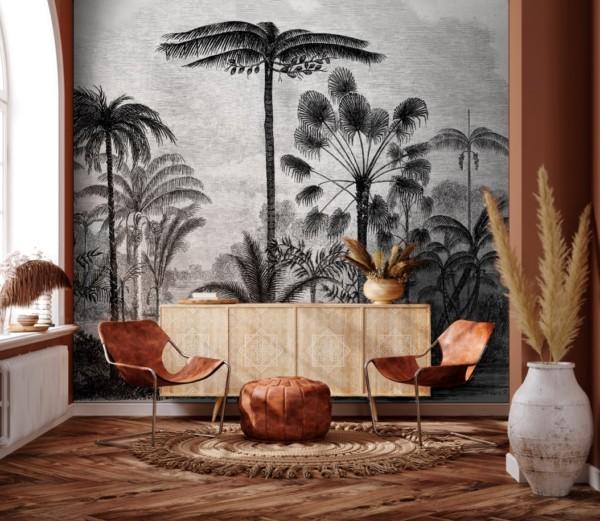 nouvelle tendance en décoration : le papier peint