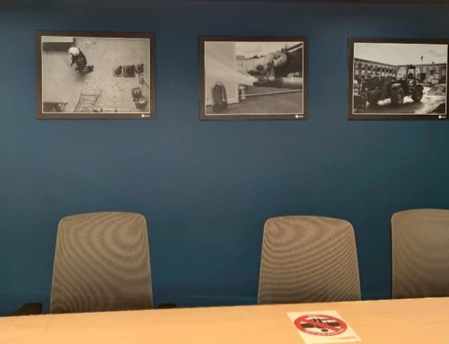 Décoration des nouveaux bureaux d'Apave (La Défense)