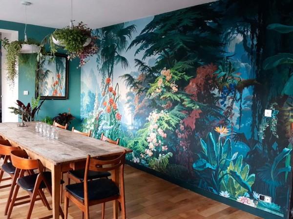 nouvelle tendance papier peint ecologique green nature