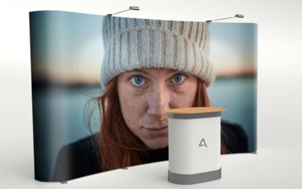 stand produits nomade support impression communication