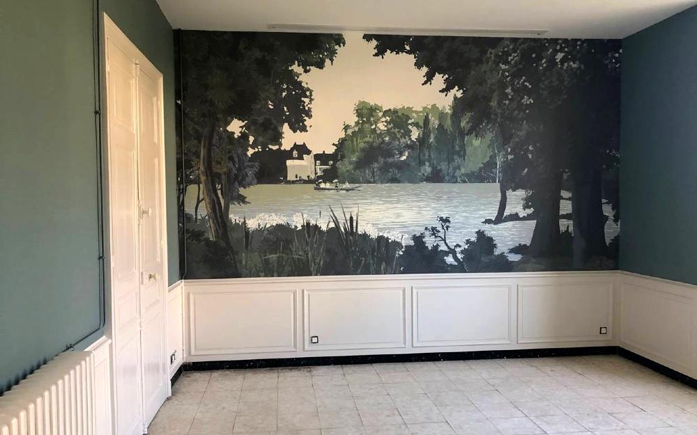créer un papier peint panoramique sur mesure