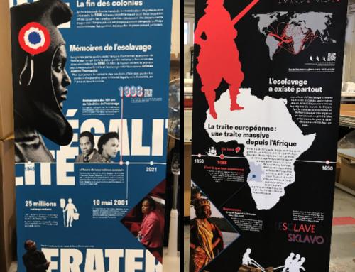 Enrouleurs et Impressions pour l'exposition #cestnotrehistoire de la FME