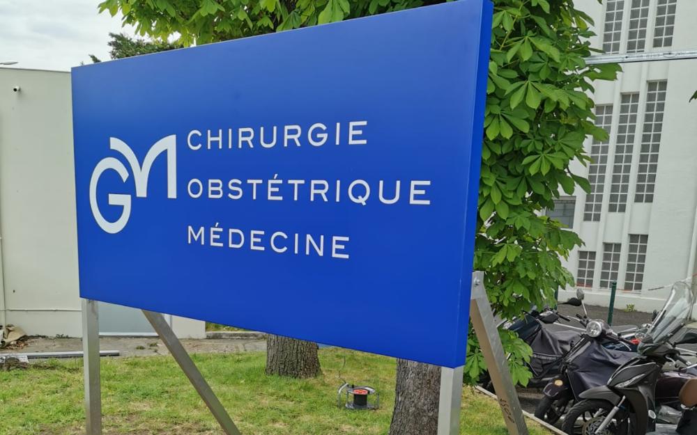 Signalétique et Panneau Clinique Metivet