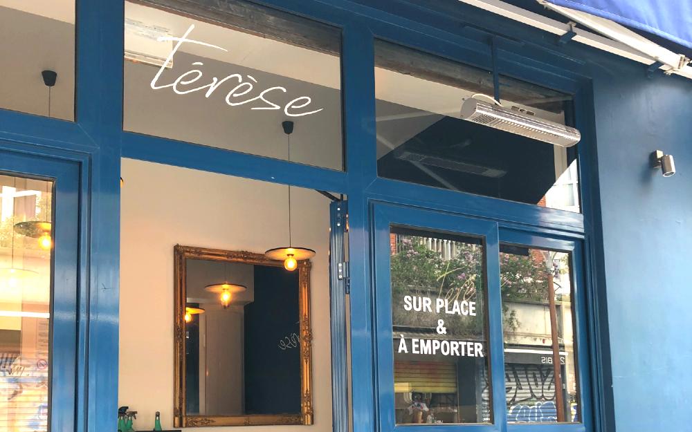 Vitrophanie et Lettrages pour restaurants du Marché Paul Bert Serpette